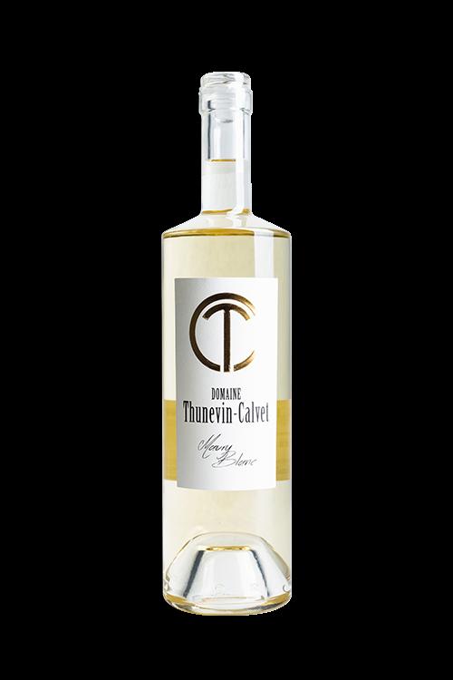 thunevin calvet domaine viticole et cave a vin cuvee maury BLANC 2017 500x750